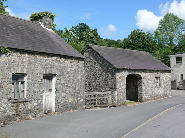 Old Smithy and forge.